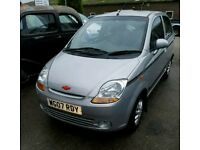 Chevrolet/Daewoo matiz only 12000 miles from new