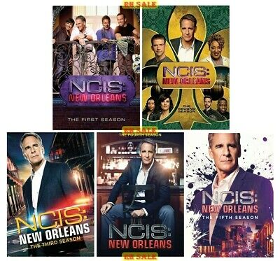 NCIS New Orleans The Complete Series Seasons 1 2 3 4 & 5 DVD New Sealed Set 1-5