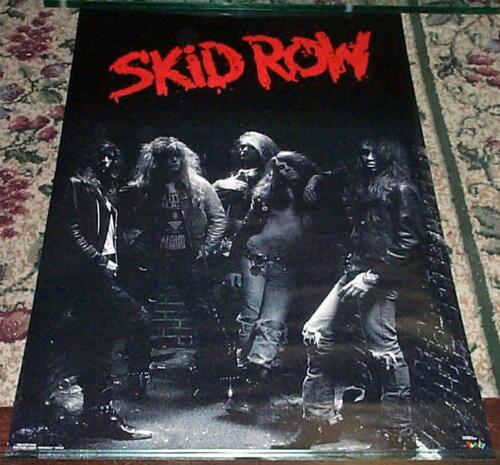 SKID ROW  Vintage 1989 Group LP POSTER