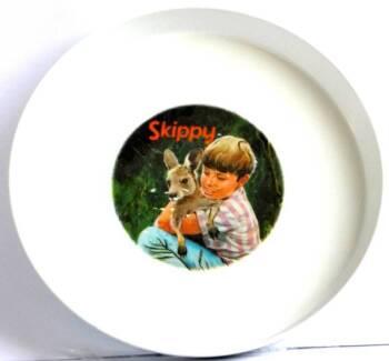 Vintage Skippy The Bush Kangaroo Plate Bessemer Melamine Nylex