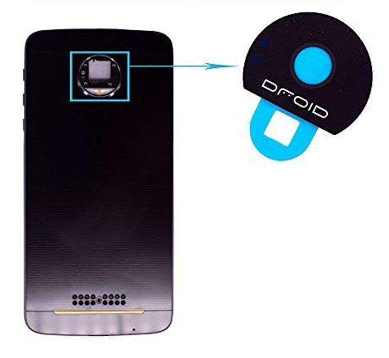 For Motorola Moto Z Force Droid Back Rear Camera Lens Glass Cover Replacement