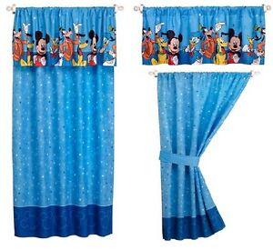 Disney-Mickey-Mouse-Donald-Duck-Pluto-Goofy-Window-Valance ...