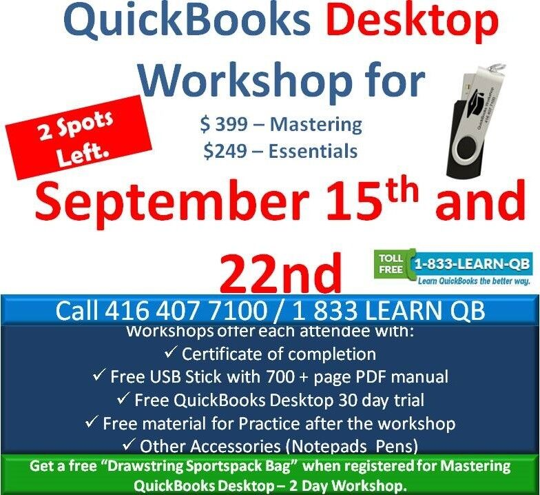 Quickbooks Training Hands On By Certified Pro Advisor Classes