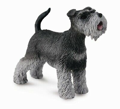 CollectA NEW * Schnauzer * 88752 Dog Breyer Figure Toy Replica