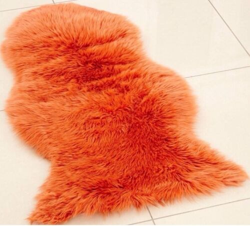 Washable Sheepskin Rugs For Dogs: Plain Soft Fluffy Faux Fur Sheepskin Rug Rugs Hairy