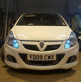 Vauxhall corsa vxr arctic edition PLEASE READ DESCRIPTION