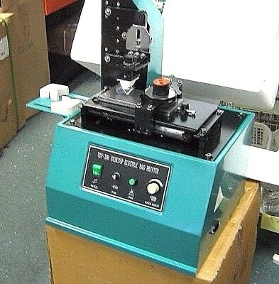 Pad Printer Tdy-300c Ink Press For Trademarks Logos Coding 110 Volt