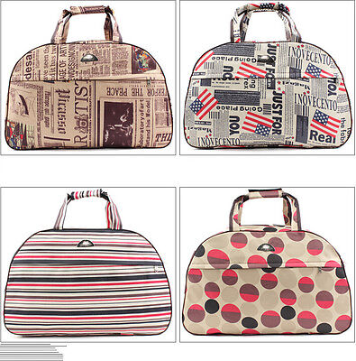 Ladies Large Canvas Oversized Weekend Bag Travel Maternity Overnight Gym Holdall