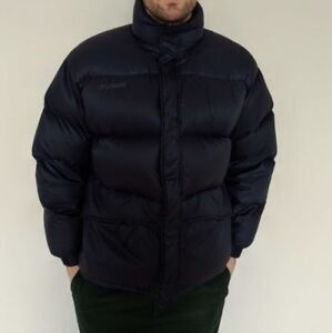 Columbia Down Jacket Navy Size Large