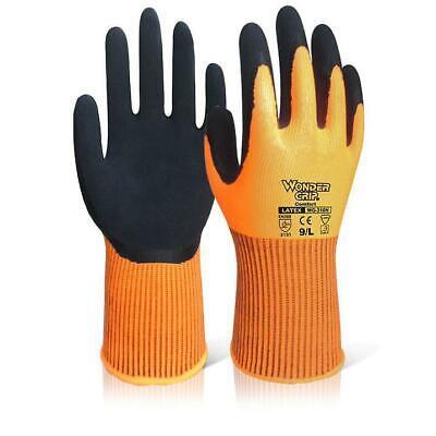 Wonder Grip WG-310H Comfort Hi-Vis Orange Glove Size 8 M Ref WG310HORM [Pack 12]