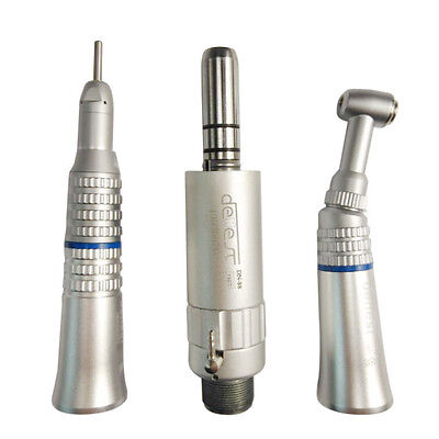 Dental Nsk Type 2-hole Slow Speed Handpiece Contra Angle Air Motor Straight Nose