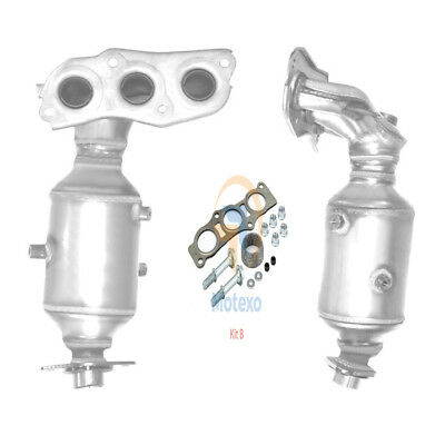 BM91263H Approved Exhaust Manifold Catalytic Converter (FITTING KIT INCLUDED)