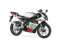 RIEJU RS3 50 PRO - SPORTS BIKE - LEANER LEGAL - Yamaha-Menarelli AM6 Motor