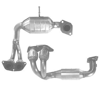 TOYOTA MR2 Catalytic Converter Exhaust Inc Fitting Kit 91053H 1.8 3/2000-12/2006