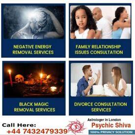 Witchcraft/Negative/Wife&Husband/Ex Love Back/Black Magic/Zin/Evil Spirit Removal Expert Astrologer