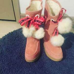 Brand New Pink Boots