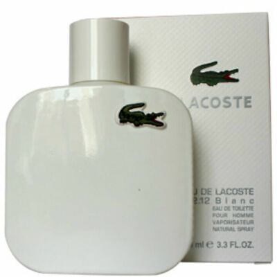 Eau De Lacoste Blanc Perfume Lacoste 3.3 Edt Spr For Men's*cologne New In Box*