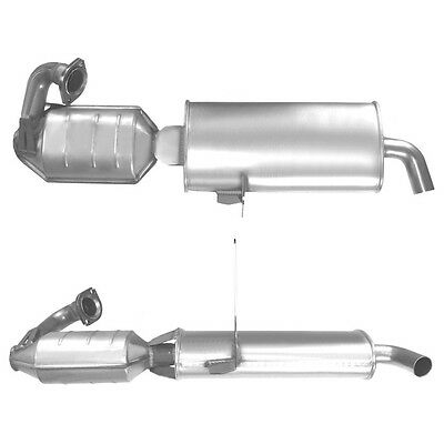 SMART CITY COUPE Catalytic Converter Exhaust + Fitting Kit BM91364H 0.6 7/1998-1