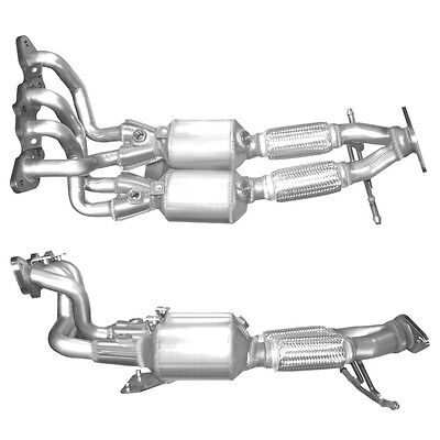 FORD FOCUS Catalytic Converter Exhaust 91483H 1.6 9/2004-3/2007