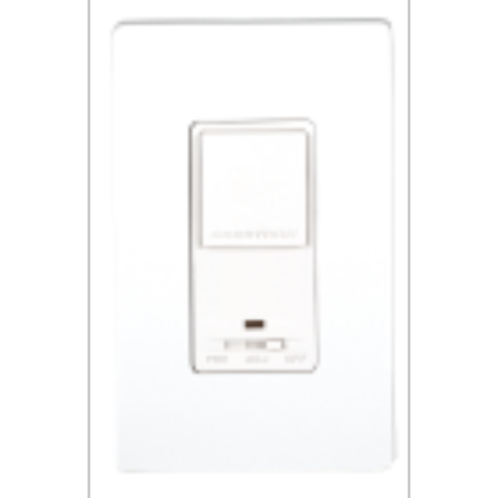 Crestron CLW-DM1B-S  Wall Box Dimmer, Single Button, BLACK, Smooth