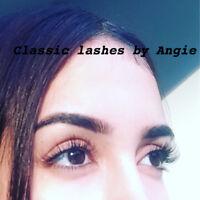 L'extension de cils/Remplissage/ Eyeslash Extension & refill