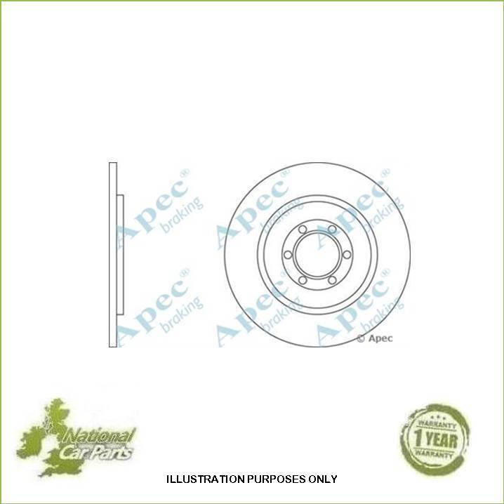 Fits Citroen XM 2.0 Turbo Genuine OE Quality Apec Front Brake Hose