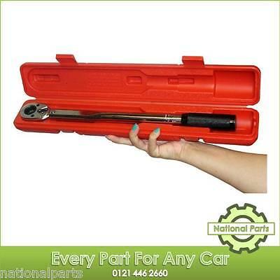 "1/2"" inch Drive Torque Wrench Ratchet Garage Workshop Hand Tool 10 - 150 ft/lbs"