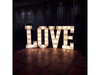 5ft LOVE LETTERS FOR EVENT HIRE