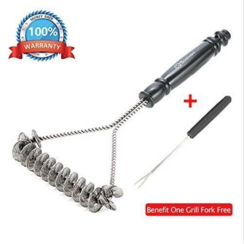 Safe/Clean Grill Brush Bristle Free Barbecue Grill Brush 100