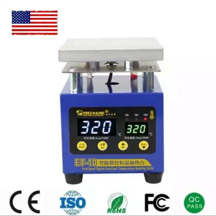 MECHANIC Heating Table Intelligent Digital Constant Temperature, Pcb, ET-10