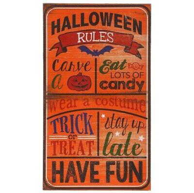 Raz Imports Halloween Decorations (Raz Imports Halloween Decor - HAlloween Candy Rules Subway)