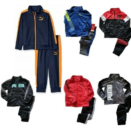 NWT PUMA Toddler Boy Two-Piece Tracksuit Set Jacket/Pants SELECT SIZE & COLOR