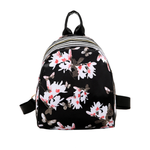 Women Casual Floral Printed Small mini  Backpacks for Travel