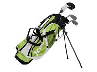 JAXX JUNIOR CHILDREN'S R2 CLUBS GOLF SET /PACKAGE AGE 8-10 YEAR USED 2 EXCELLENT CONDITION COST £100