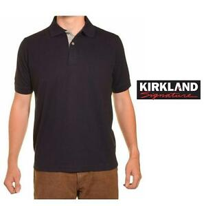 NEW KIRKLAND POLO SHIRT MEN'S MED - 125425586 - NAVY