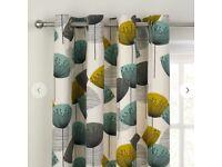 John Lewis Sanderson Dandelion Clocks Curtains & cushions RRP £200