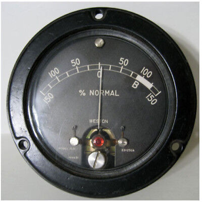 Weston Model 1531 - Normal - Panel Meter