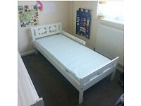 2 x Ikea Kritter Toddler Beds with Mattresses. £40 each