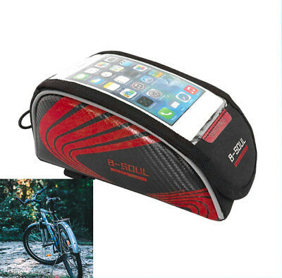 CW/_ Bicycle Front Bag Cycling Basket Pannier Frame Tube Handlebar Pouch Outdoor