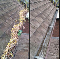 Eavestrough Cleaning, Leaf-guard Installation, Repairs