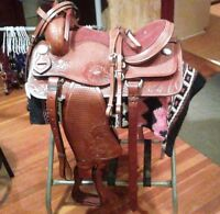 Brand New Western Saddle Pckge
