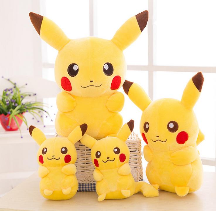 Pokemon Soft Plüschtier Pikachu Soft Toy Kuscheltier Puppe Stofftiere Geschenk