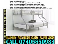 Brand New Bunk .. bed Single Double And Mattress ..CALL NOW Thicket