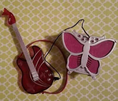 THE BARBIE DIARIES DOLL PURPLE BUTTERFLY GUITAR & AMP PLAYS 3 SONGS MOVIE - Purple Butterfly Movie