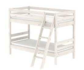 Leander Cot Cot Bed White Including Mattress Bed Extender