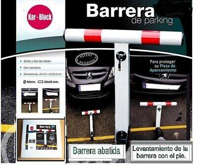 BARRERA PARKING / BARRERA DE APARCAMIENTO . MÄXIMAS PRESTACIONES BARRIER