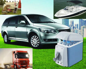 Brand New 12V 7.5L Portable Cooling Warming Box Mini Travel Fridge Cooler Car Van Office Gift