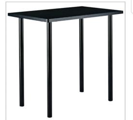Brand new black office desk