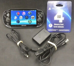 Sony  PS VITA   • 1000 OLED Model