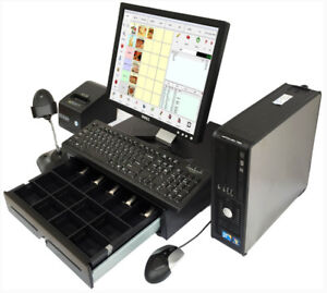 Point of Sale System POS Touch Screen Digital TV Menu